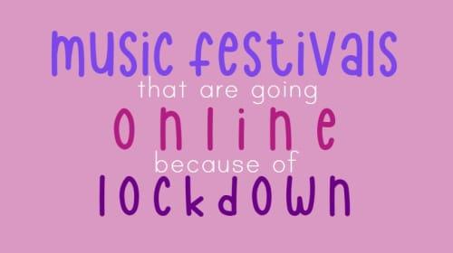Isolation Music Station: The UK Music Festivals Going ONLINE