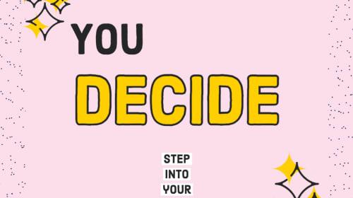 You Decide! Date Idea