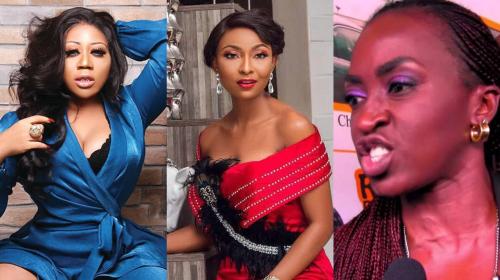 Nollywood Celebrities Go At It Over Instagram Nudity.
