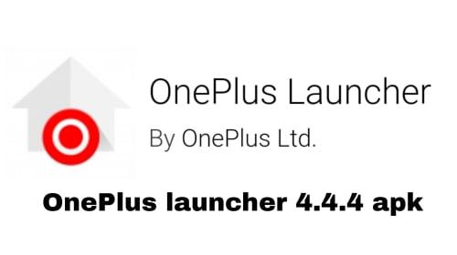 OnePlus Launcher 4.4.4 apk
