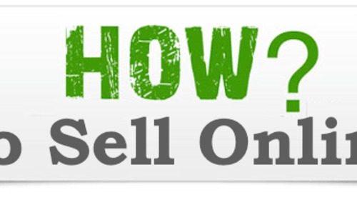How to sell online part 1
