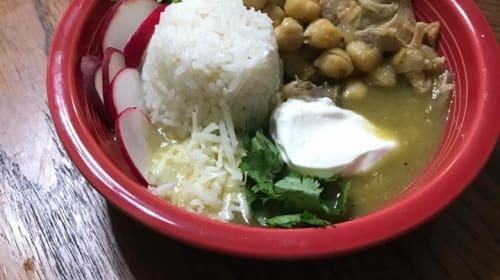 Green Chicken Soup