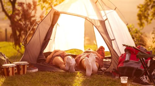 How to sleep well in a tent?