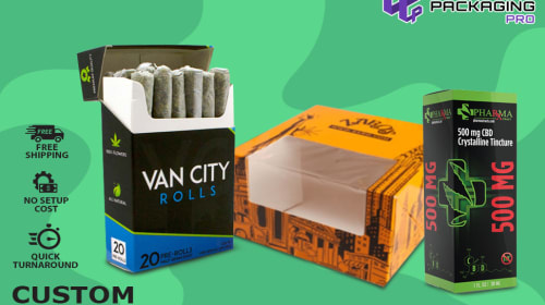 Custom Packaging Boxes and Cigarettes