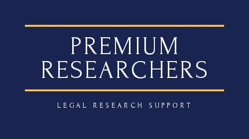 Five basic components of a law research project and dissertation