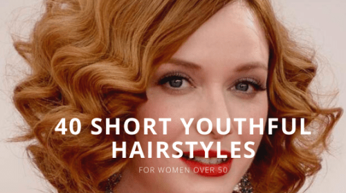 40 Beautiful Short Hairstyles for Women Over 50