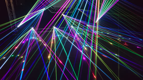 "An encounter with ""lasers"""