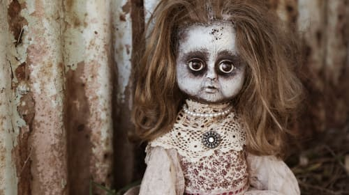 Five haunted objects to conjure nightmares