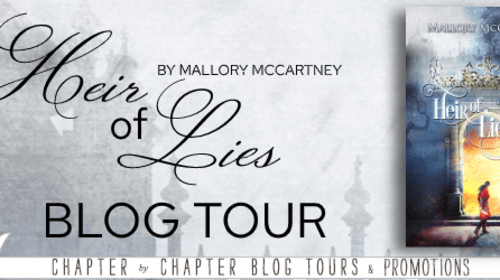 """""""Heir of Lies"""" Interview with Author Mallory McCartney"""