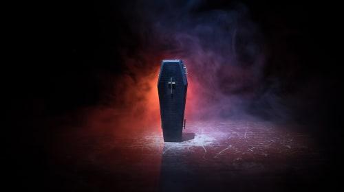 Obsidian Sarcophagus