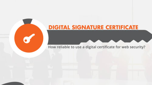 How Reliable to use a Digital Certificate for Web Security?