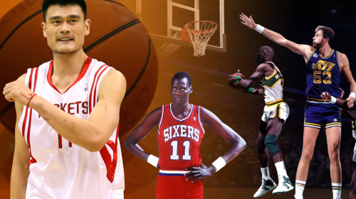 The 10 Tallest players to play at least one game in the NBA