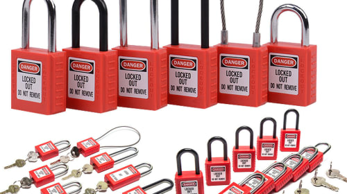 The Important Of Shackle Material For Lockout Tagout Padlock