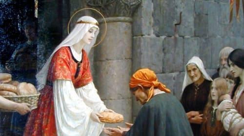 A Saint | St. Elizabeth of Hungary