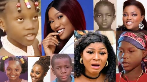8 Nollywood Actors Who Started Working at a Young Age