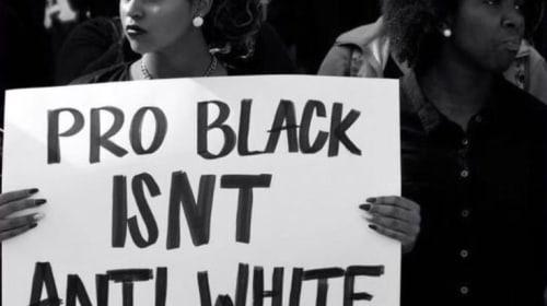 White person's take on white silence