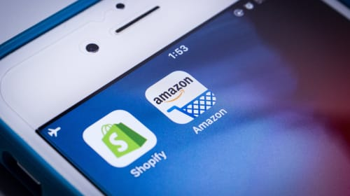 Shop Consumer app by Shopify versus eCommerce giant Amazon in the near future