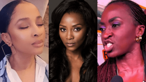 Nigerian Celebrities Speak Against Rape.