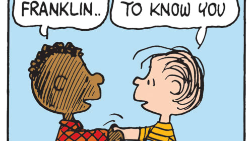 The Peanuts Gang can shed light on today's racial issues