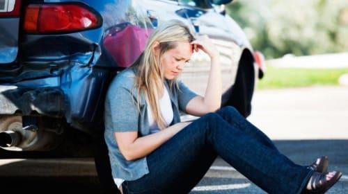 Car crash injuries in California