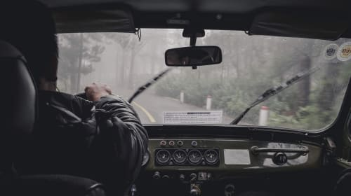 The Dangers of Hydroplaning on Wet Roads