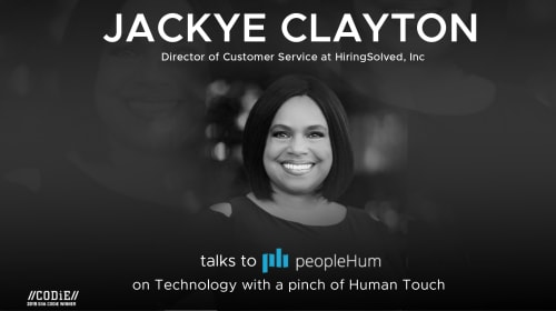 Technology with a pinch of Human Touch – Jackye Clayton [Interview]