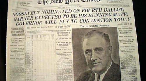 Franklin Roosevelt Era