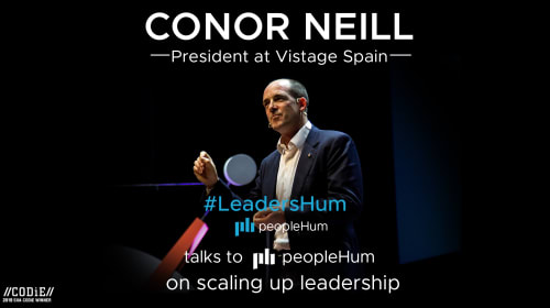 Scaling up Leadership – A talk with Conor Neill |LeadersHum
