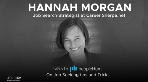 Job Seeking Tips and Tricks – Hannah Morgan [Interview]