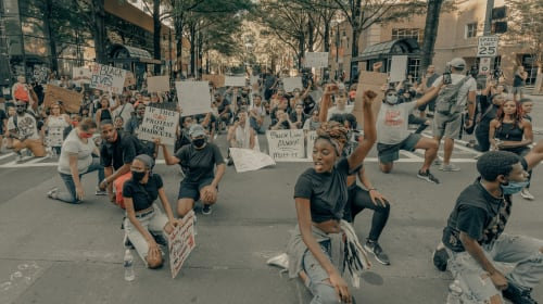 A Perfect Storm is giving Black Lives Matter a Dramatic Lift