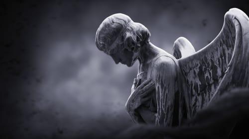 An Angel's Weary