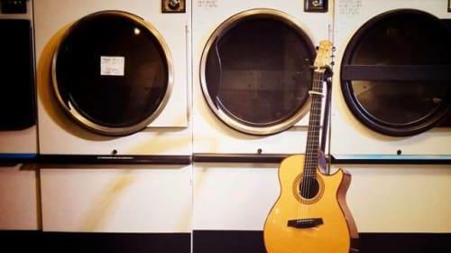 Durham's beautiful launderette
