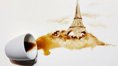 Make Tea Not War, But If It Spills Make Some Art