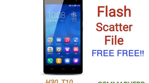 HONOR H30-T10 MT6572 4.2.2 FLASH FILE FREE DOWNLOAD