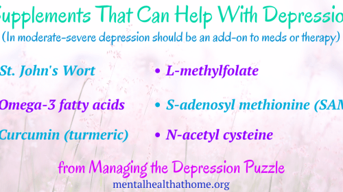 Supplements for Depression that Work