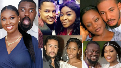 10 Ghanaian Actors With The Cutest Wives (Photos).