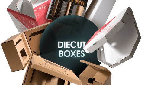 How can we increase the sale of our retail products by using window cut on the lid of Die-cut Boxes?