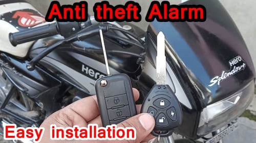 How to Install an Alarm System on a Motorcycle