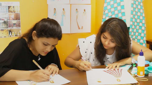 INIFD Fashion Design Institute in Rajkot - Government Fashion Design Course
