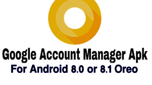 GOOGLE ACCOUNT MANAGER 8.1 APK APPS