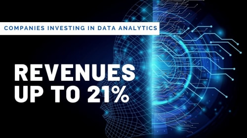 Companies investing in Data Analytics would increase their revenues by up to 21%