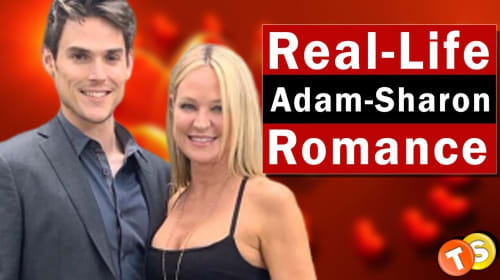 'The Young and the Restless' Mark Grossman and Sharon Case in real-life romance