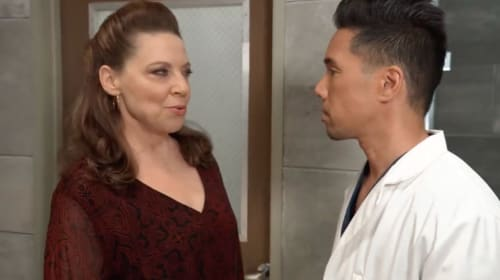 'General Hospital' Obrecht and Brad have unfinished business