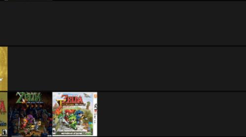 Zelda Games Ranked Part One