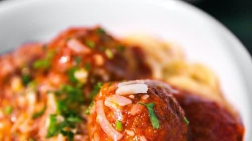 My Amazing Covid Meatballs