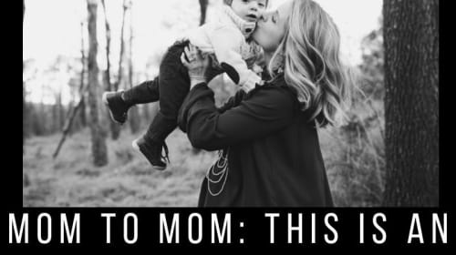 Mom to Mom: This Is An Emotional Shit Show