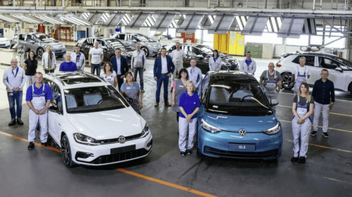 Goodbye to diesel and gasoline cars: Volkswagen factory produces last ever combustion engine car, shifts to EVs only