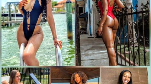 Part XIII: Hot Summer Bods in Women's Sports & Fitness