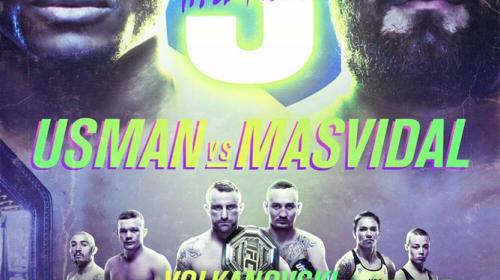 UFC 251- USMAN vs MASVIDAL                       (Yas Island, Abu Dhabi)
