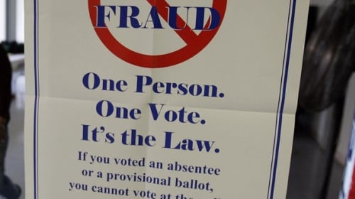 Voter Fraud is Dirty Business
